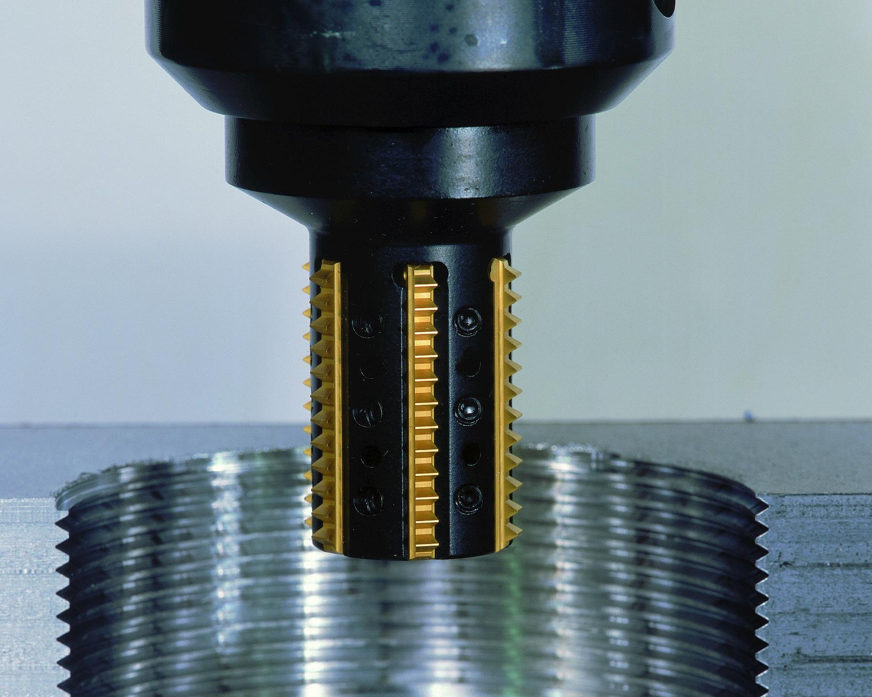 396.18/19/20 - Insert Thread Milling Cutters